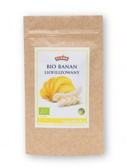 Bio banan liofilizowany 30 g